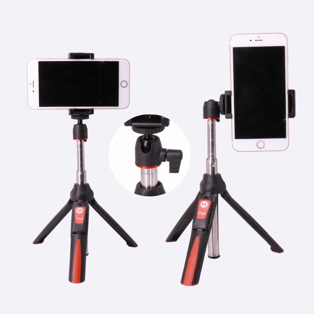 Benro Bluetooth селфи палка штатив выдвижной Автопортрет монопод Штатив для iPhone XS samsung huawei P20 Pro Gopro 7 6