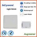 Нет кабелей для установки С Автономным питанием беспроводной выключатель света без батареи кнопка может быть использован в ванной комнате, беспроводной настенный выключатель