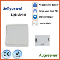 No Battery Wireless Remote Control Wall Switch No Cabling For Installation Battery Free Button Can Be