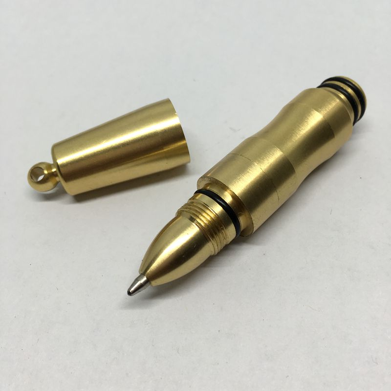 Brass pen,Ball Pen outdoor EDC tactical pen,Broken Windows tool. Key Ring Buckle 1 5mm 10pcs lot outdoor tool accessory camping edc gear multifunctional wire rope key ring