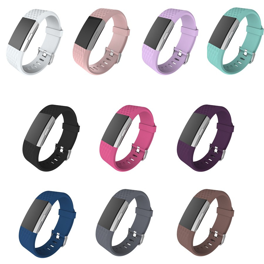 Replacement Strap Bracelet Soft Silicone Watch Band Wrist Strap For Fitbit Charge 2 Band Charge 2 Heart Rate Smart fitbit charge 2 smart wristbands replacement band blue page 5