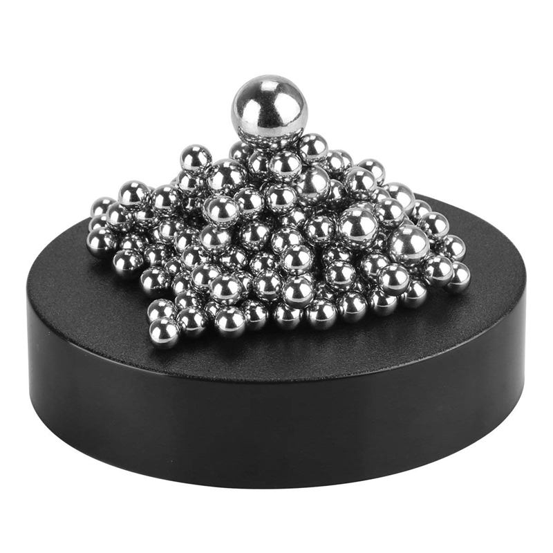Stresskiller DIY Creative Ball Game Building Block With Magnetic Pedestal Decoration