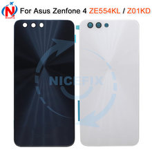 For ASUS Zenfone 4 ZE554KL Rear Battery Housing Door Cover Back Case For asus ZE554KL Z01KD Battery Cover(China)
