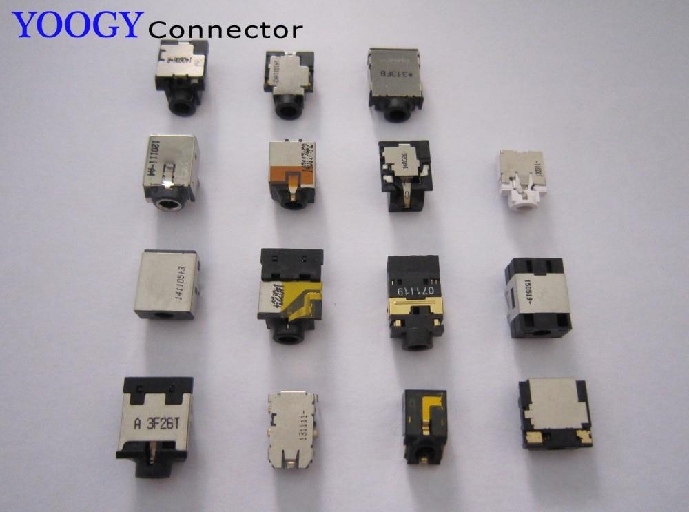 15model/15pcs Audio socket fit for lenovo, dell, hp, acer, asus laptop motherboard headphone jack port