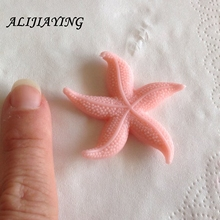 Sugarcraft Starfish chocolate cake decorating tools DIY sea star fondant silicone mold baking for cakes decoration D0412