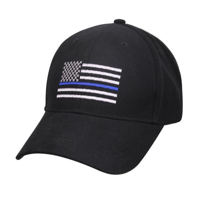 American Flag Thin Blue Line Flag Low Profile Tactical Hats For Police Law  Enforcement Back The Blue Embroidered Cap-in Baseball Caps from Apparel ... 50be6d9a8bb2
