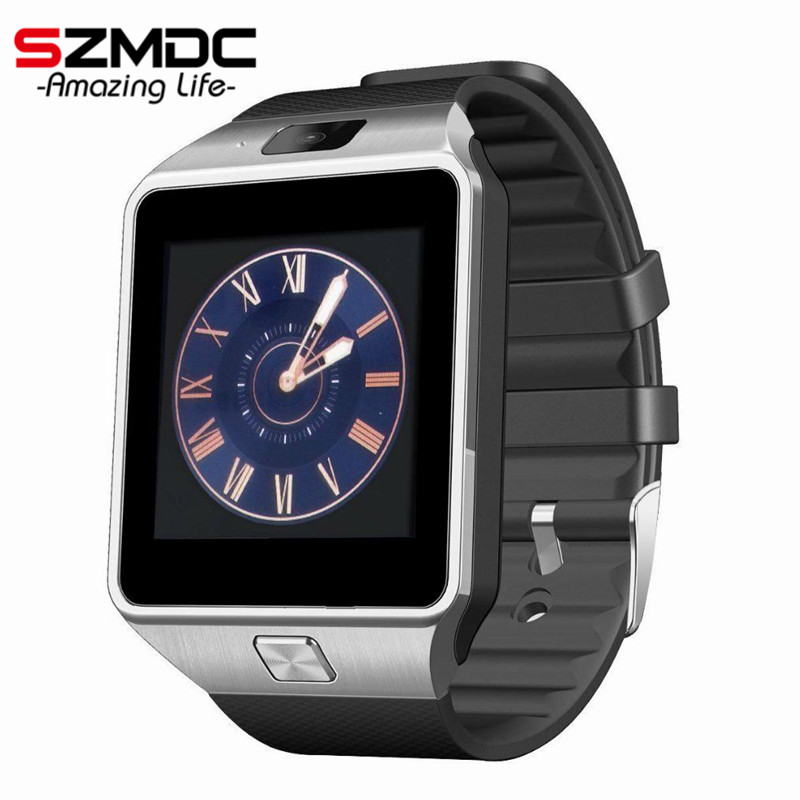 2016 Hot Smart Watch DZ09 Clock SIM TF for Android Iphone Camera Bluetooth Wristwatch Smartwatch Phone