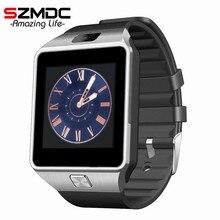 Лидер продаж 2016 года Смарт-часы DZ09 часы SIM/TF для Android IPhone Камера Bluetooth наручные часы SmartWatch телефон PK GV18 GT08 GV09 M26 U8