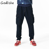 GODLIKE The 2018 Men S Wear And Fat Increase Jeans Shorts Men S Hip Hop Hip