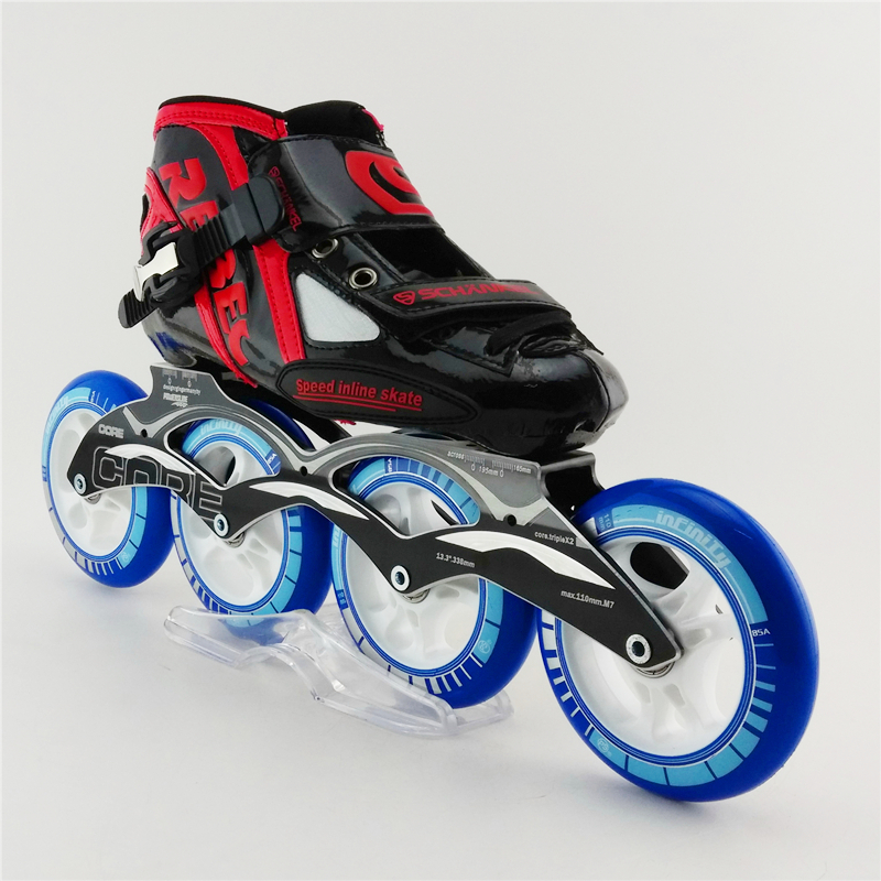Professional Speed Inline Skating For Adult High Strength Glass Mens Speed Roller Skating Shoes New Creative Kids patins