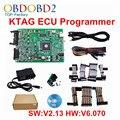 Best Chip Quality KTAG V2.13 Hardware V6.070 Master K-TAG ECU Chip Tuning Tool K TAG J-Tag No Tokens Limited KTAG