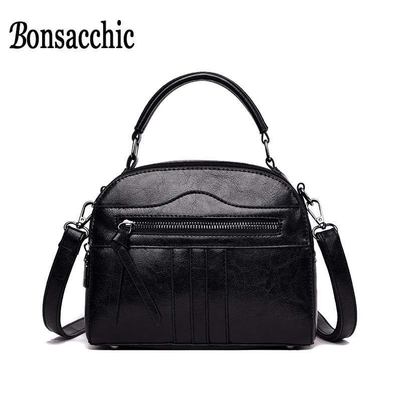 6c46b0837f12 Винтажные черные сумки женские кожаные сумки маленькие женская сумка с  застежкой-клапаном Женские известные бренды