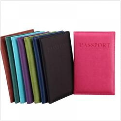 Reisepass Abdeckung Utility Einfache Passport ID Karte Abdeckung Halter чехол на паспорт Leder Passport Wallet обложка на паспорт