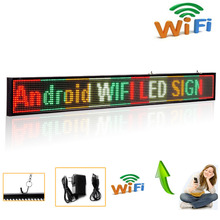 82cm P5 16*160 SMD advertisingled display board fixed