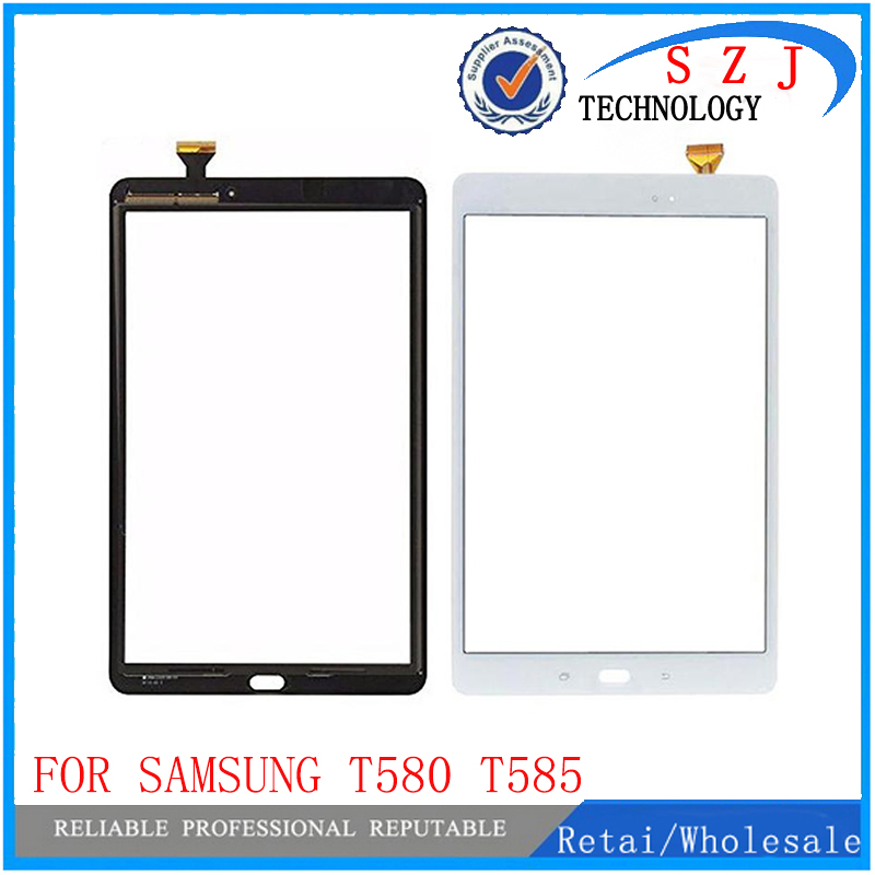 New 10.1 For Samsung Galaxy Tab A 10.1 T580 T585 SM-T580 SM-T585 Touch Screen Digitizer Sensor Glass Panel Replacement 10pcs цена и фото