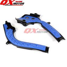 Motorcycle Frame Guards For Husqvarna TC125 FC250 FC350 FC450 2016-2017 Dirt Bike MX Motocross Free Shipping