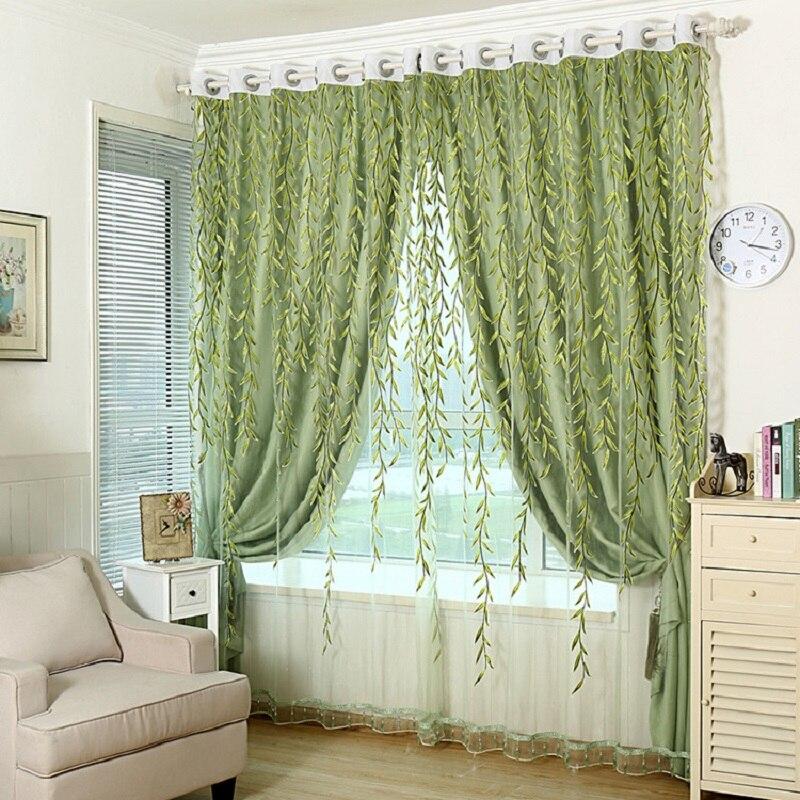 Cortina jacquard janela sombra tecido cortina blecaute  ~ Cortina Para Quarto Com Blecaute