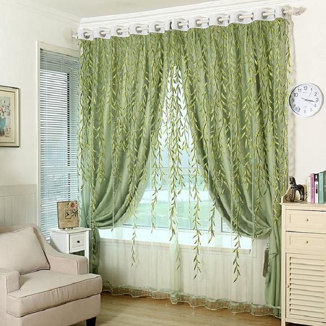 Aliexpress.com : Buy curtain jacquard shade window blackout ...
