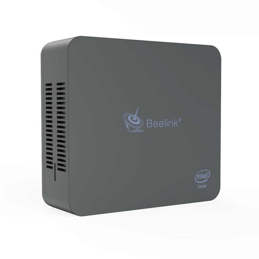 Beelink U55 Mini PC Core I3 5005U HD5500 8GB 256GB Dual Band WiFi 1000Mbps Bluetooth 4.0 Support Win10 64Bit Pocket Mini Pc