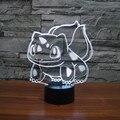 Cambio de 7 colores de Dibujos Animados de La Rana led de Luz de Interior 3D llevó bombilla usb touch lamp light novelty luz iy803377 etsy para regalos