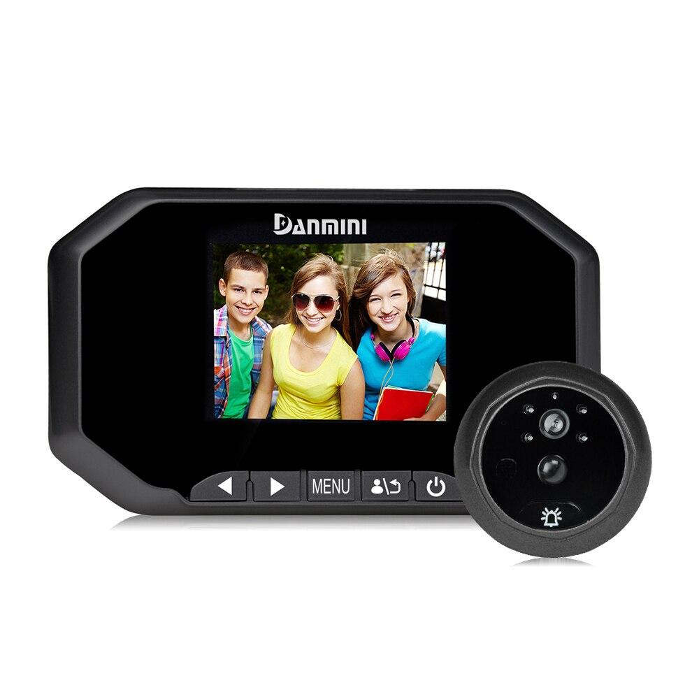 30 inch color screen security front digital door viewer digital electronic camera