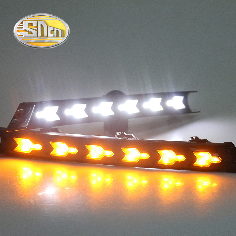 For Mazda CX-5 CX5 2017 2018,With Yellow Turning Signal Function Waterproof Car DRL 12V LED Daytime Running Light Daylight SNCN mazda cx 5 киев