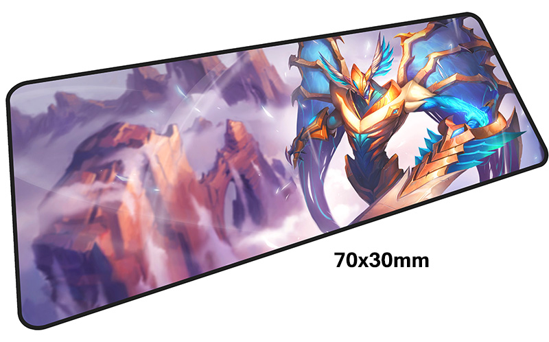 aatrox mousepad gamer 700x300X3MM gaming mouse pad large locked edge notebook pc accessories laptop padmouse ergonomic mat