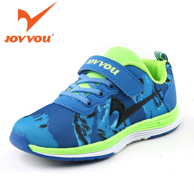 JOYYOU Brand Kids Shoes Casual Mesh Flats Lace-Up Shoes Fashion Comfortable Boys Girls Shoes Kids Breathable Sapatos Meninos
