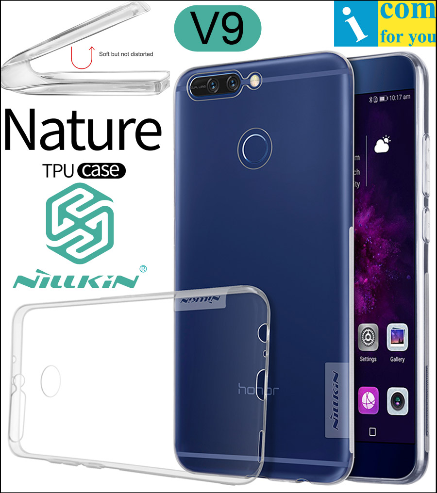 Nillkin Природа Ясно Мягкие TPU Protective Case Cover Для Huawei Honor V9 Прозрачные Силиконовые Оболочки Honor 9