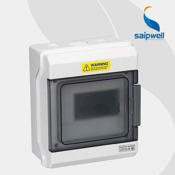 220*165*100mm  IP67 6-Ways  Waterproof  Distribution Box /Enclosures for Electronic Equipment  MCB RCD ( GDB-06 )