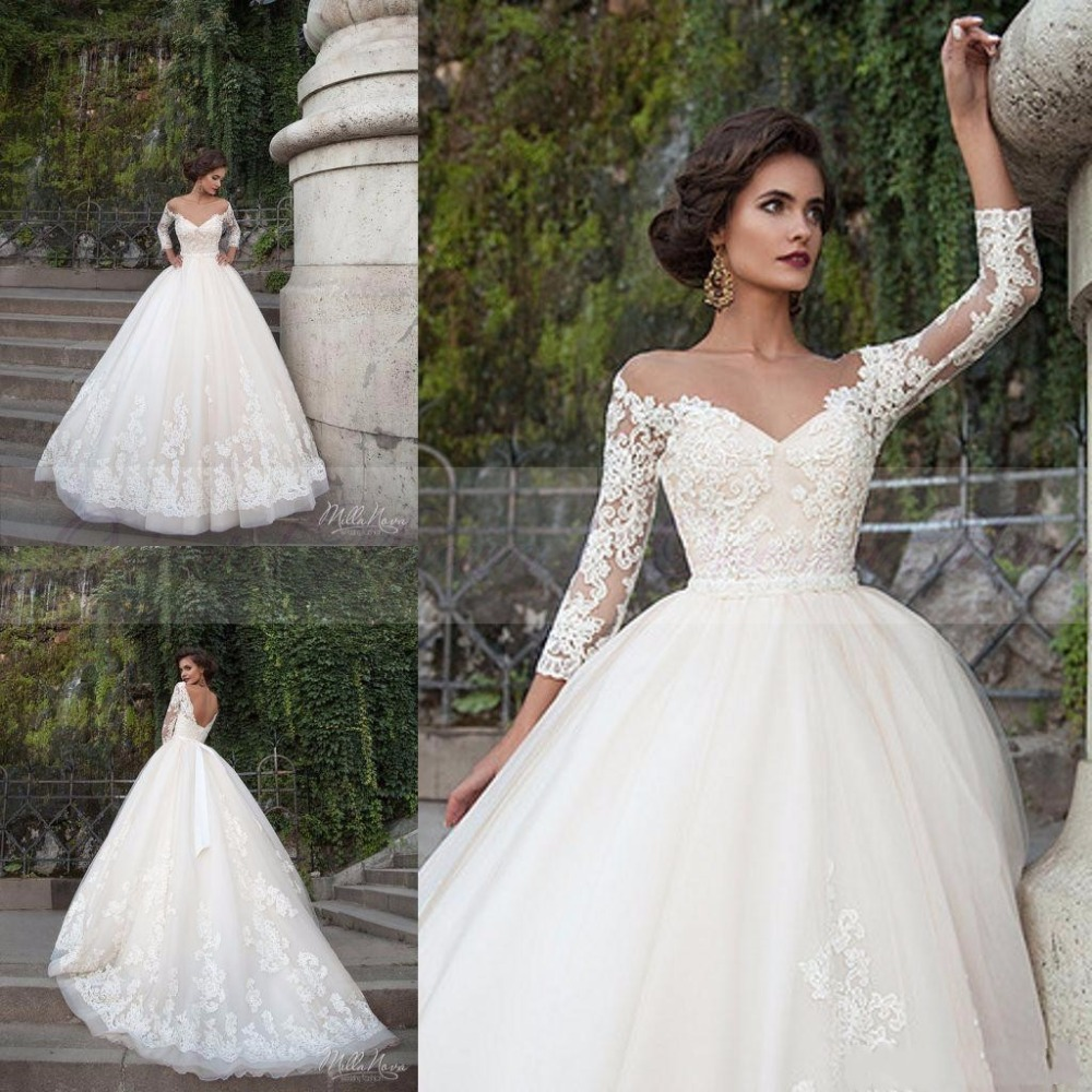 Online get cheap princess ball gown wedding dress for Cheap princess wedding dress