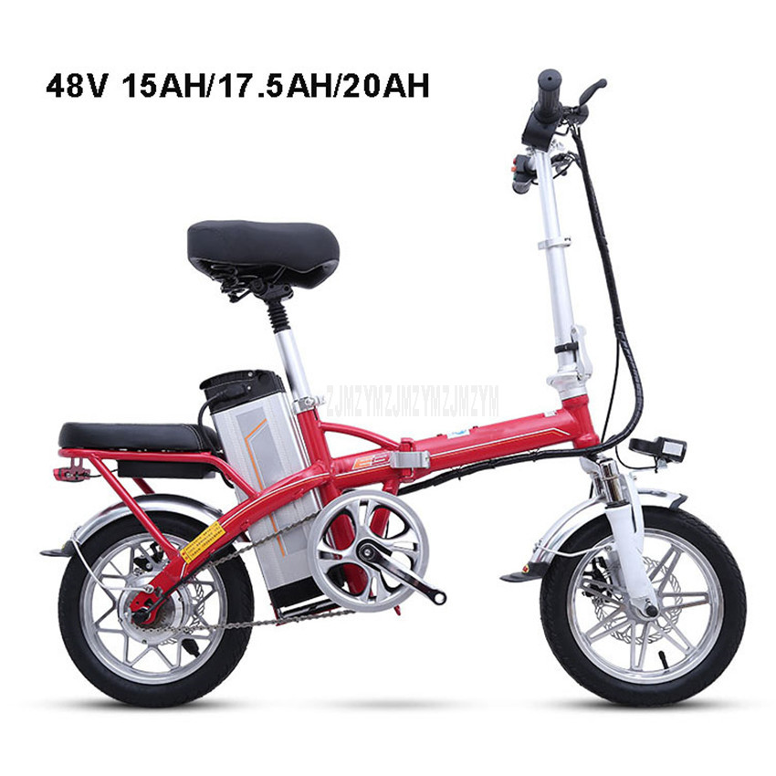 Mini Bike Folding Electric Bike 14inch Wheel 240W Motor E Bike Electric Bicycle Scooter 48V 15AH/17.5AH/20AH Lithium Battery