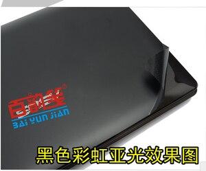 Image 3 - محمول ألياف الكربون الفينيل ملصقات الجلد غطاء حماية لديل Vostro 5470 V5470 5480 V5480 14 بوصة