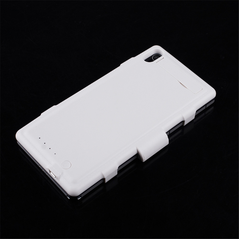 3500mAh External Backup Battery Charger Case Capa for Sony Xperia Z2 L50w Phone Power Back Cover