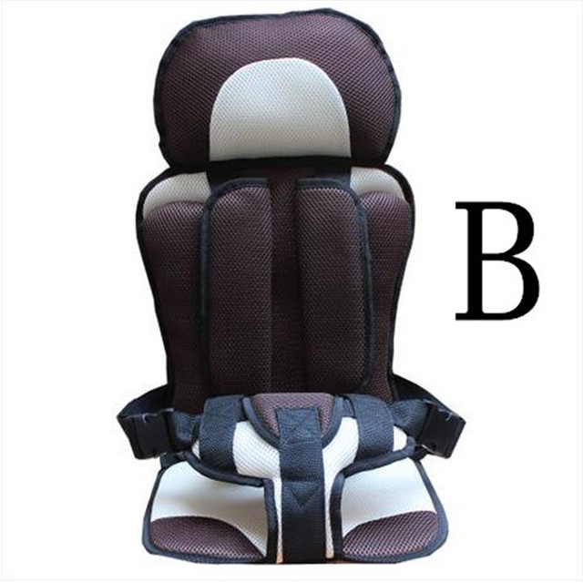 Car sit auto booster seat portable Baby Kids children Car Seats ...