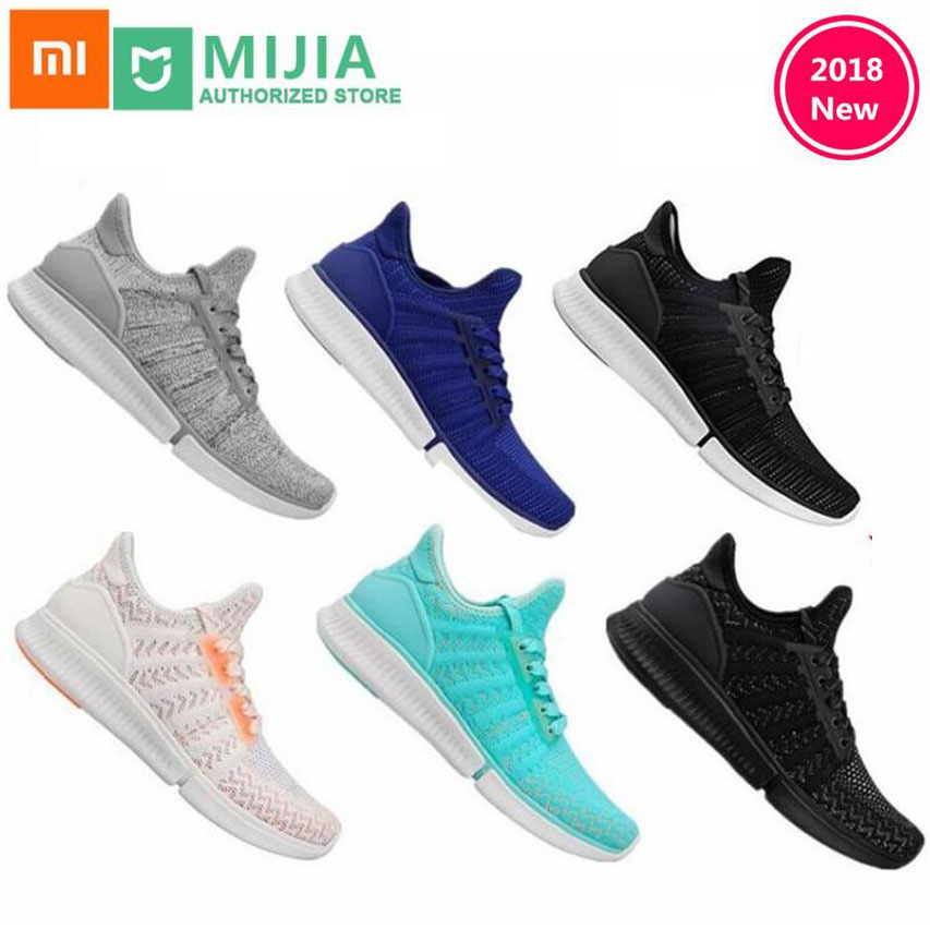 Xiaomi Original Mijia chaussures de sport Sneaker haute qualité mode professionnelle IP67 étanche support puce intelligente non inclus