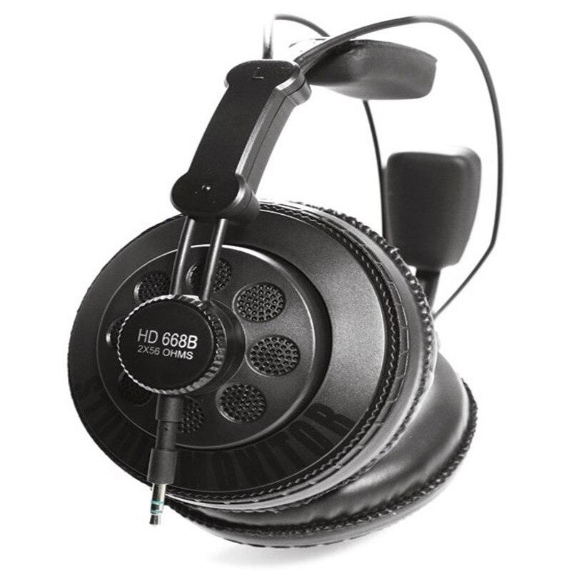 Auriculares Professional Monitor Headphones DJ Studio Earphone Semi open Dynamic Hifi Stereo Headphone Original Superlux HD668B aliexpress com buy auriculares professional monitor headphones  at soozxer.org