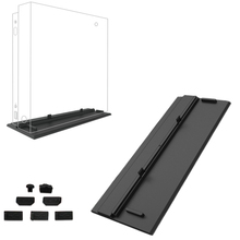 Simplicity Cooling Vertical Stand Mount Dock Cradle Holder DIY Dust Proof Pack Kit Jack Stopper For Xbox One X OneX Game Console 3cleader® dust proof dust prevention cover case mesh jack stopper pack kits for playstation 4 ps4 gaming console