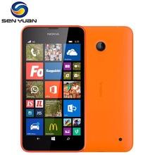 Разблокировка Nokia Lumia 635, сотовый телефон, Windows Phone, 4,5 дюймов, четырехъядерный, 8 Гб ПЗУ, МП, wifi, gps, 4G, LTE, смартфон, мобильный телефон