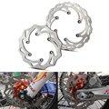 260/220 мм Передние Задние тормозные диски роторы для KTM 125 200 250 300 350 450 500 EXC SX SXF XC XCW XCF 1994-2019 Husqvarna Husaberg