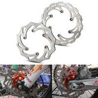 Disques de frein avant arrière 260/220mm Rotors pour KTM 125 200 250 300 350 450 500 EXC SX SXF XC XCW XCF 1994-2019 Husqvarna Husaberg