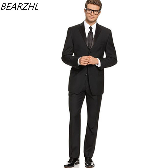 Sposo Indossare Cravatta Gli Giacca Wedding Per Tuxedo Nera Beach E HFAZq7Zn