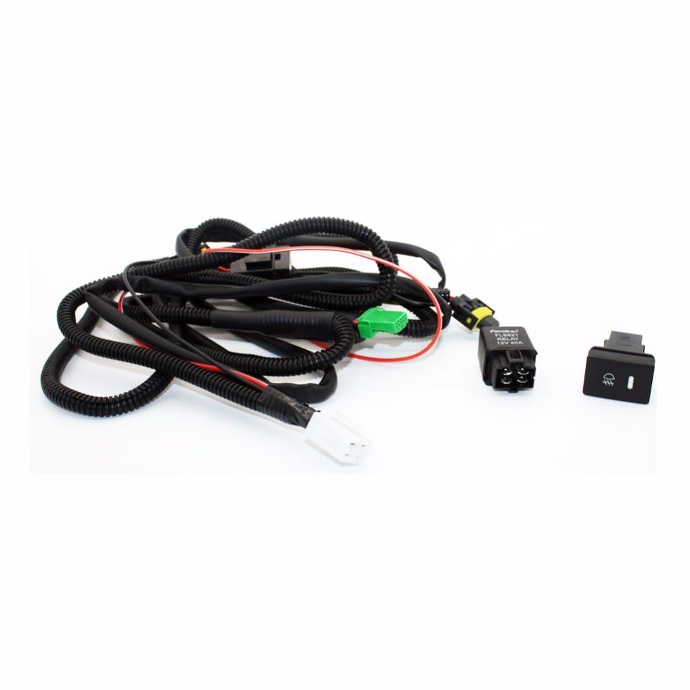 medium resolution of for suzuki grand vitara h11 wiring harness sockets wire connector switch 2 fog lights drl