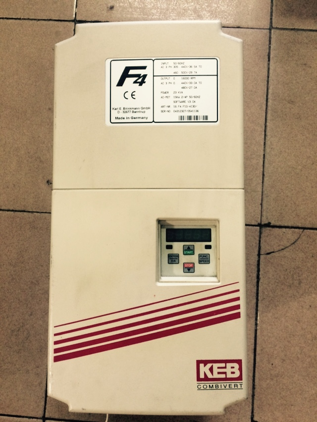 16.F4.F1G-4I00 15KW  inverter used in good condition 30days warranty sm 15 30 tc used in good condition