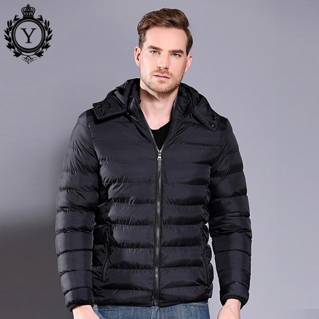 COUTUDI Men's Jacket 2018 Plus Size Warm Outwear Male Winter Jacket Men Windbreaker Thick Hooded Jacket Men Parkas Size M-5XL