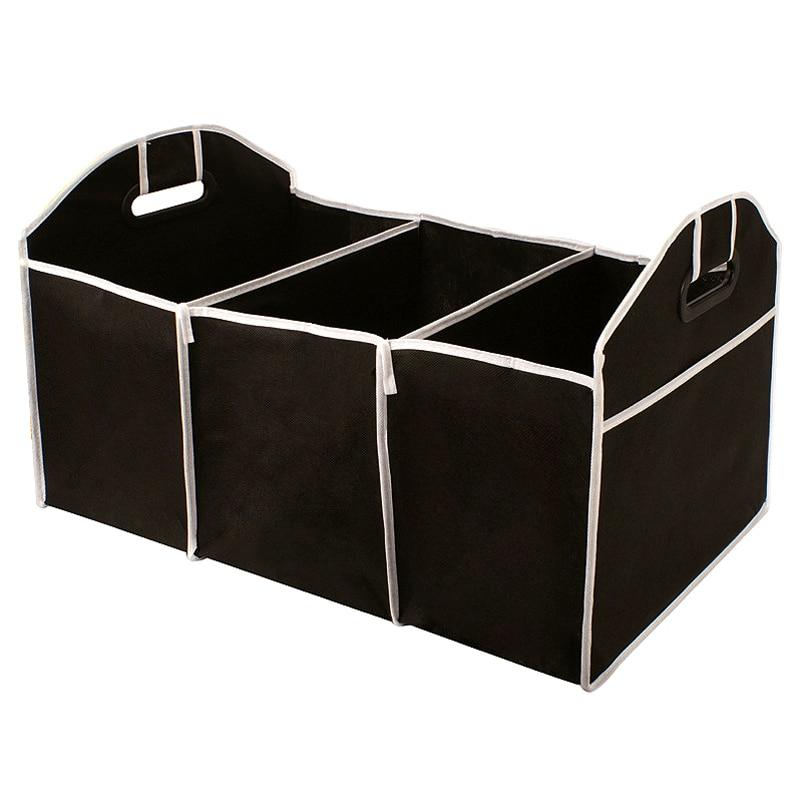 Auto Scatola di Immagazzinaggio Tronco Veicolo Sacchetto Tool Box Multi-uso Tools Organizzatore del Sacchetto Pieghevole Oxford Sedile Posteriore Organizzare Interni accessori