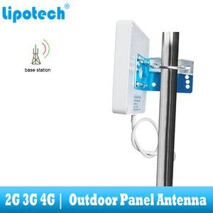 Image 2 - 8dbi 700 2700 Mhz 2G 3G 4G na zewnątrz antena panelowa GSM CDMA WCDMA UMTS Repeater antenowy LTE wzmacniacz/wzmacniacz anteny zewnętrznej