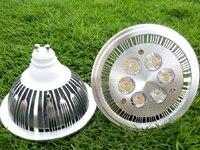 Ar111 6 × 2 ワット led スポットライト電球ランプ gu10 e27 スポットライト lamparas照明12 ワット ハイ パワー 6 leds暖かい白冷たい白ce