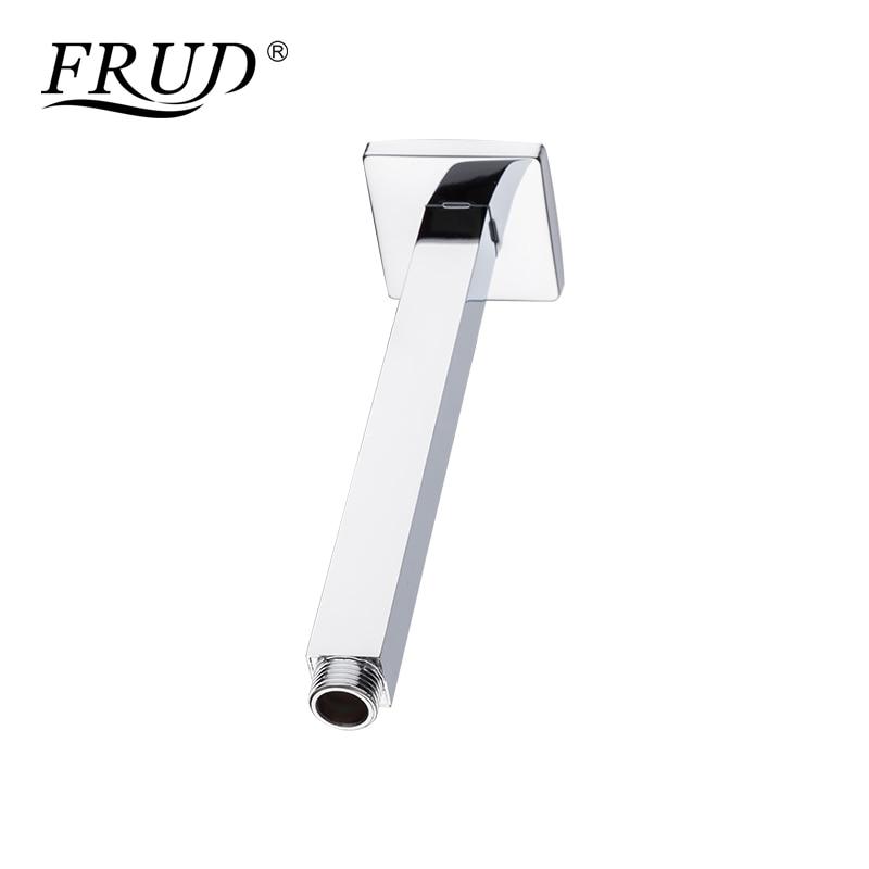 Frud new bathroom shower arm chrome plated brass material - Chrome plated brass bathroom accessories ...