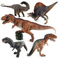 4pcs/set Jurassic World Tyrannosaurus Dragon Dinosaur Baby Eggs Toys Plastic Dolls Collectible Furnishing Figures For Kids Gift